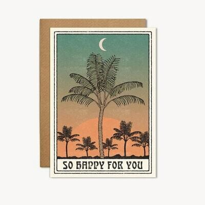 So Happy For You Greeting Card - CJ18