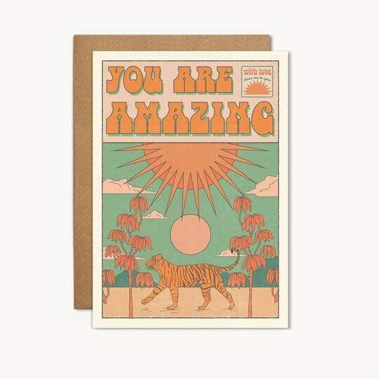 You Are Amazing Greeting Card - CJ17