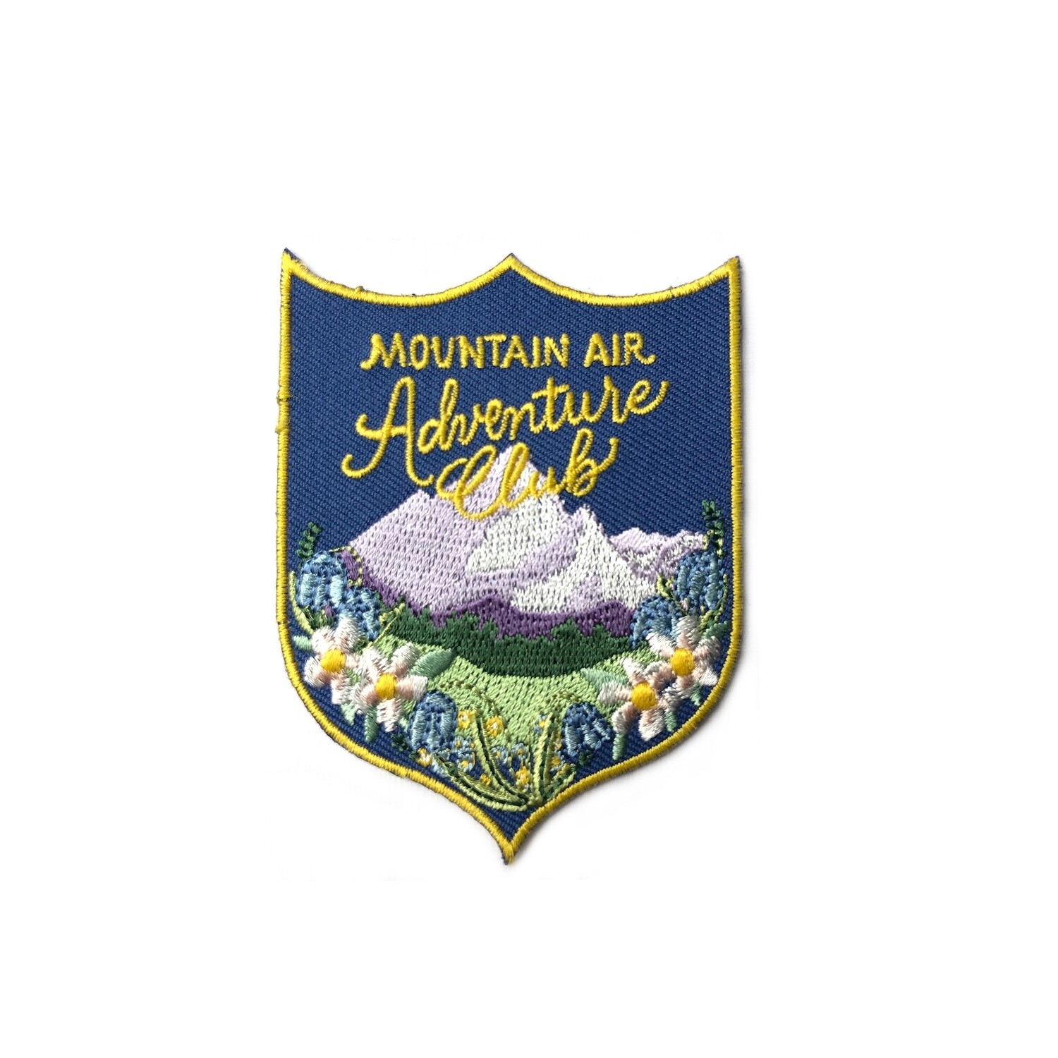 Mountain Air Adventure Club Embroidered Patch - AQPA12