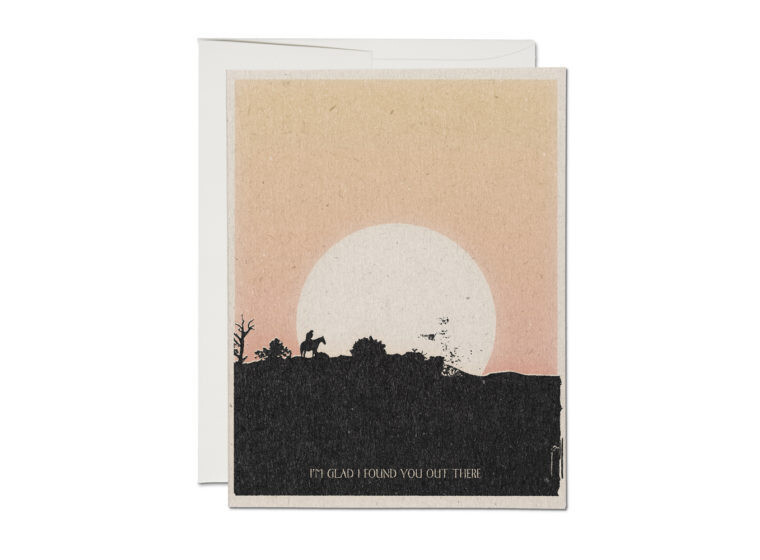 I Found You Greeting Card - RC83