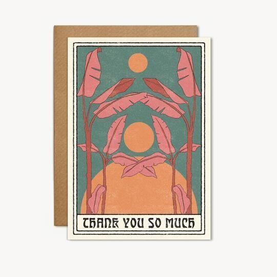 Thank You So Much Greeting Card - CJ16
