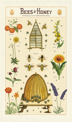 Bees + Honey Tea Towel