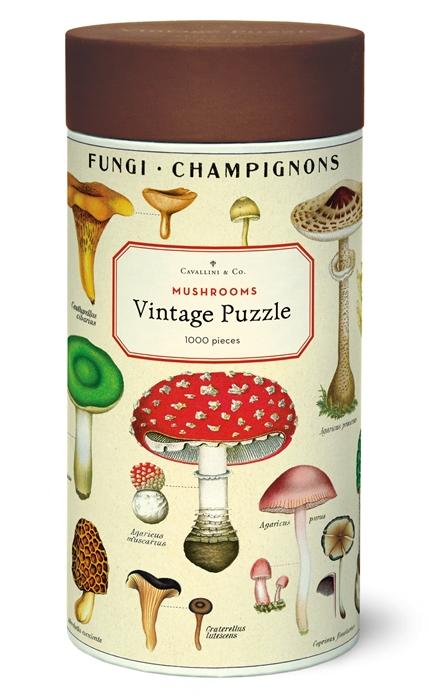 Mushrooms Puzzle 1,000 Pieces