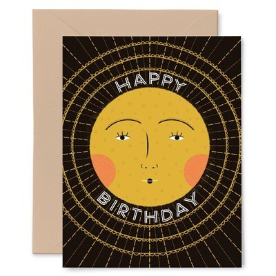 Birthday Sun Greeting Card - GG14