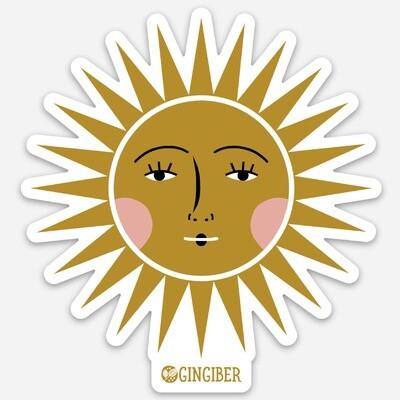 Sun Vinyl Sticker - GGS3