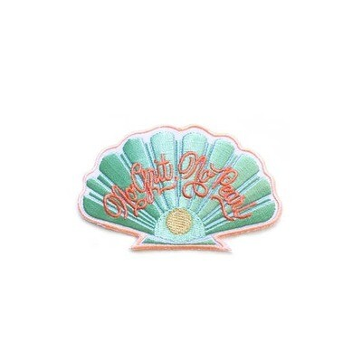No Grit No Pearl Embroidered Patch - AQPA14