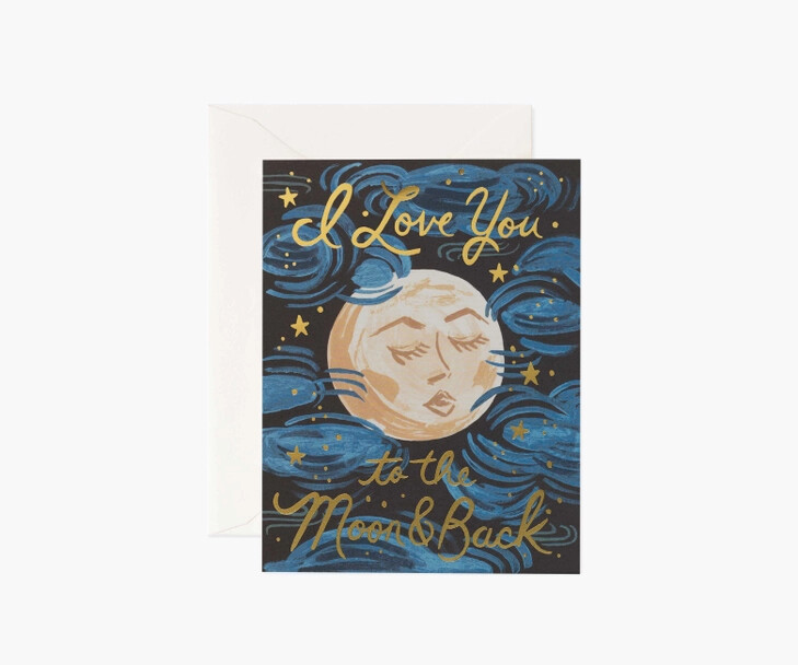 To the Moon and Back Card - Rifle Paper Co. RPC145