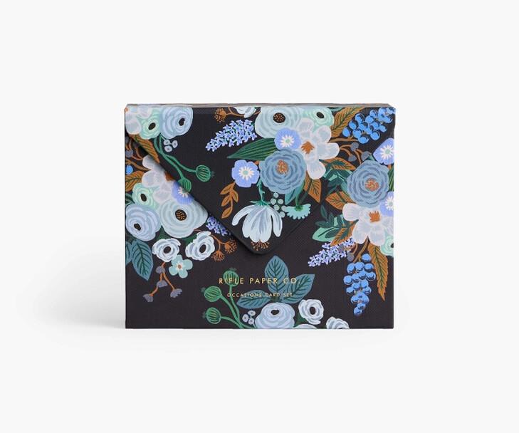 Mixed Florals Essentials Card Box - Rifle Paper Co. RPC39