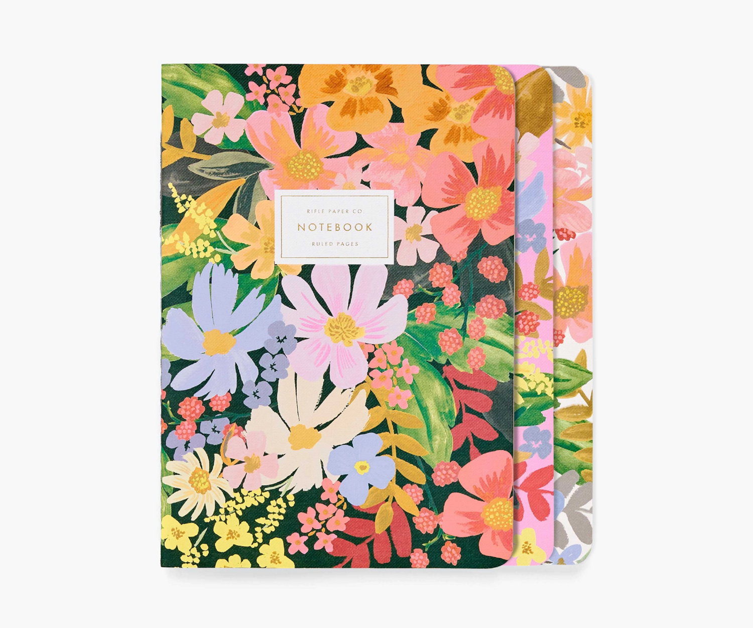 Marguerite Stitched Notebooks - Set of 3 - Rifle Paper Co. RPC46
