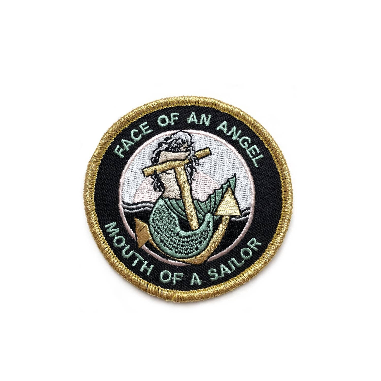 Face of an Angel Embroidered Patch - AQPA15