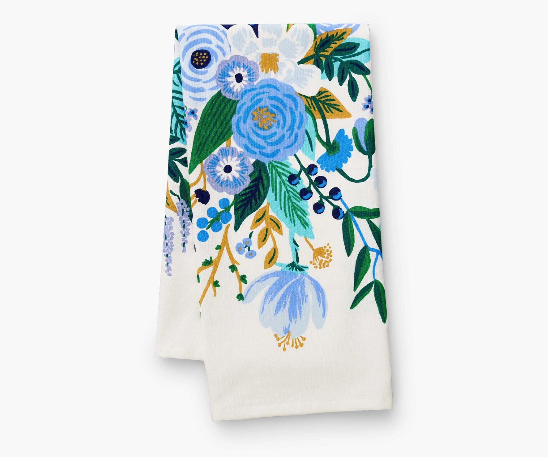 Garden Party Blue Tea Towel - Rifle Paper Co. RPC62