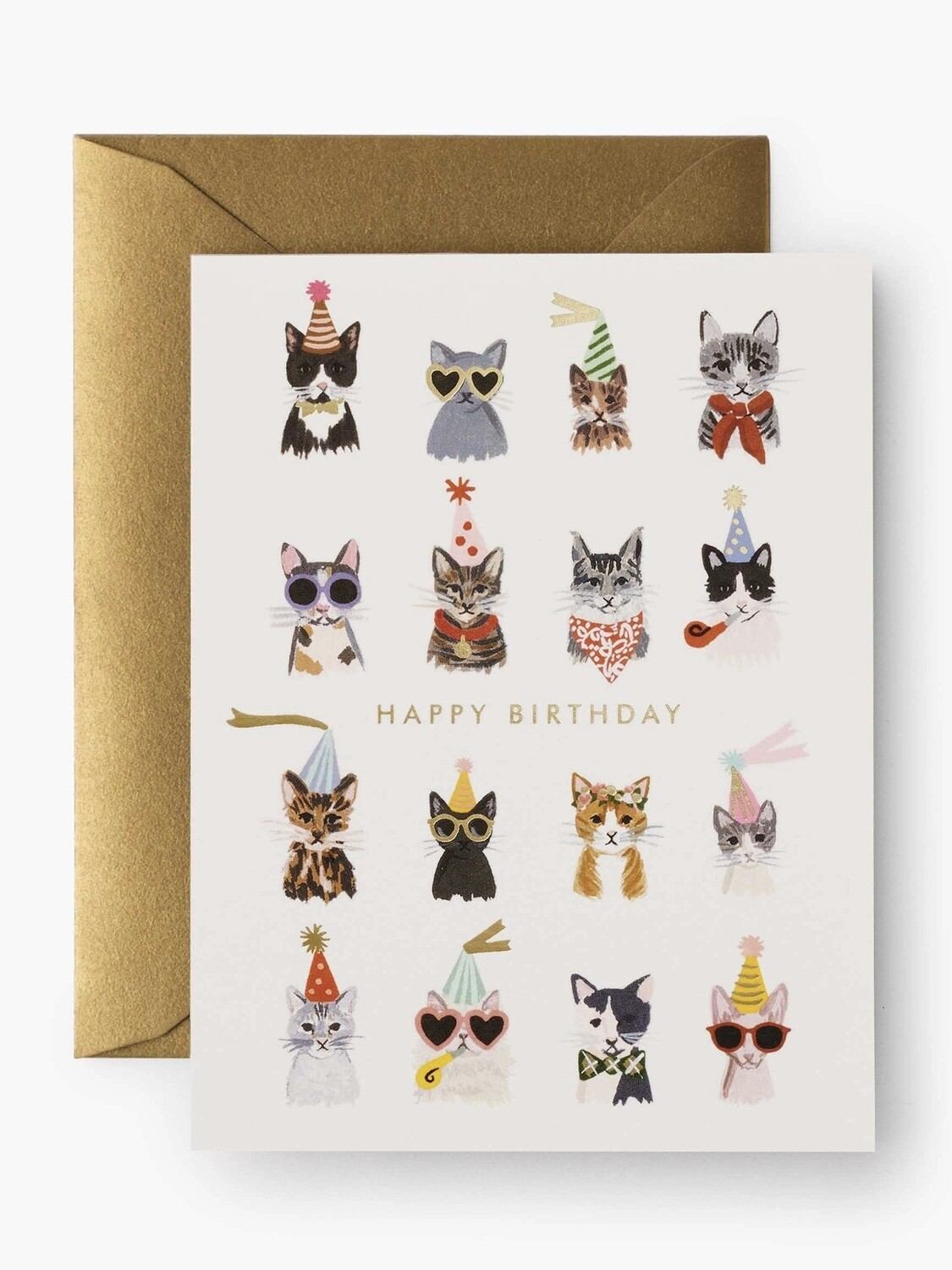 Cool Cat Greeting Card - Rifle Paper Co. RPC133