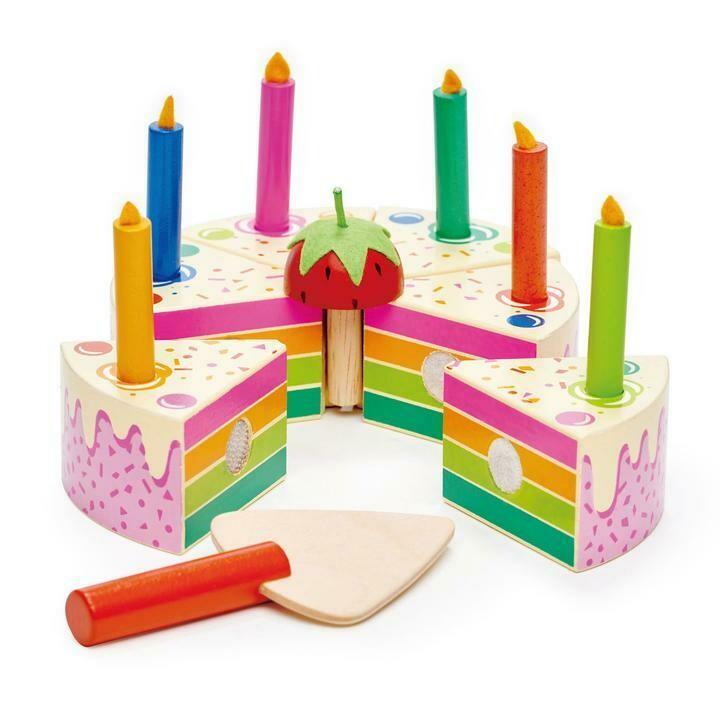Tender Leaf Toys - Rainbow Birthday Cake