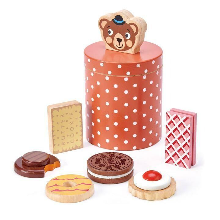 Tender Leaf Toys - Bear's Biscuit Barrel