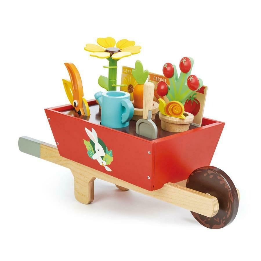 Tender Leaf Toys - Garden Wheelbarrow Set