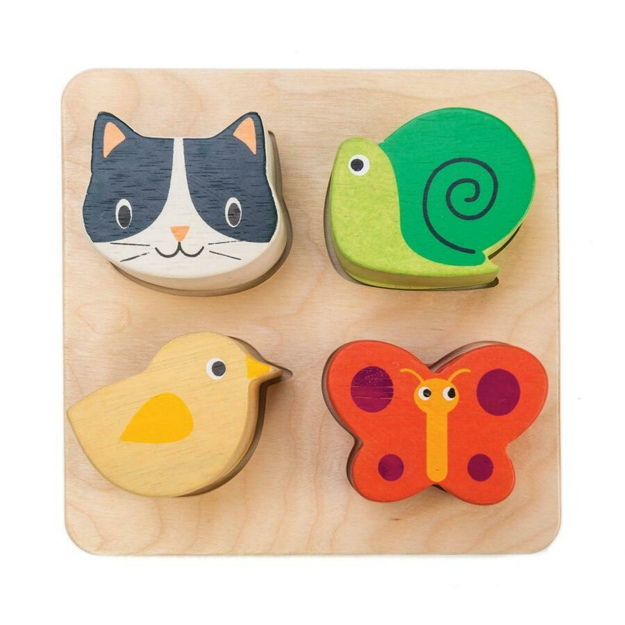 Tender Leaf Toys - Touch Sensory Tray