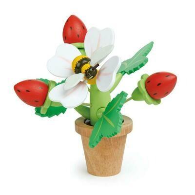 Tender Leaf Toys - Strawberry Flower Pot