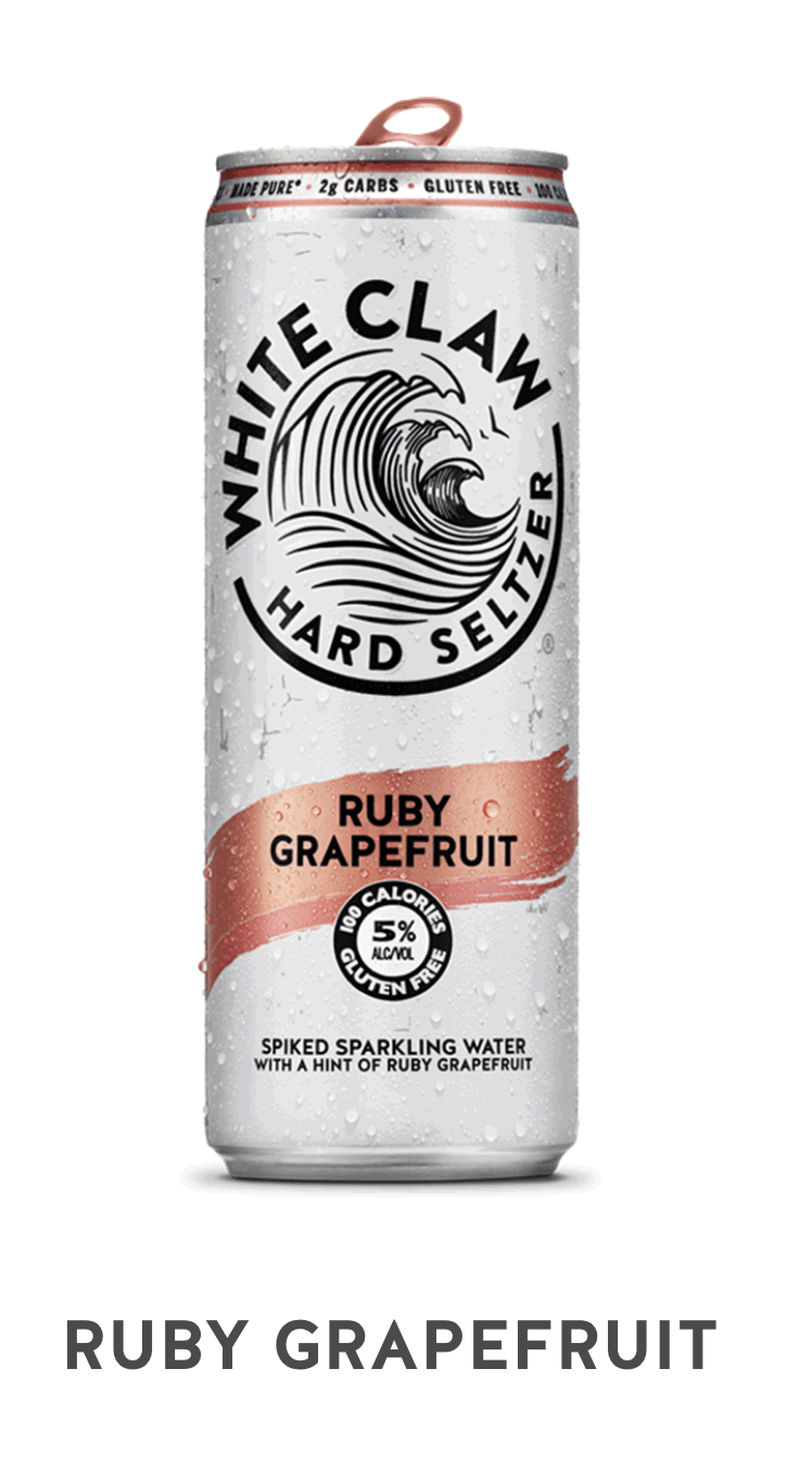 White Claw Ruby Grapefruit Can 19.2oz