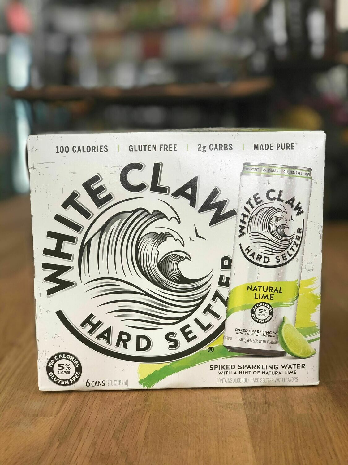 White Claw Lime 6P