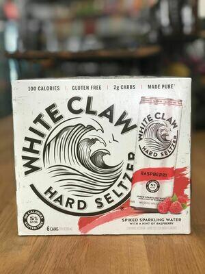 White Claw Raspberry 6P