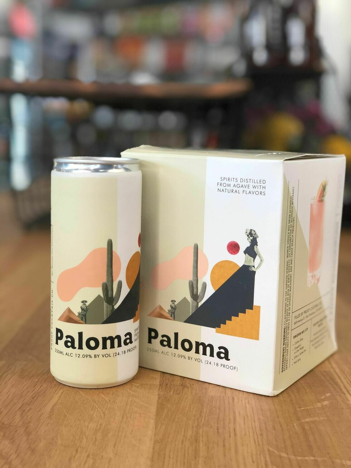 Proof Cocktail Paloma 4P