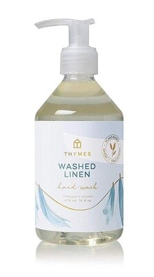 Thymes Washed Linen Hand Wash 9oz