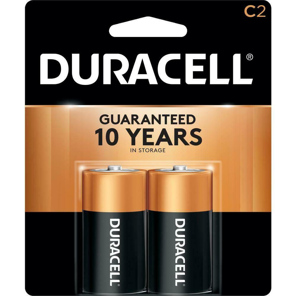 Batteries - C 2-Pack