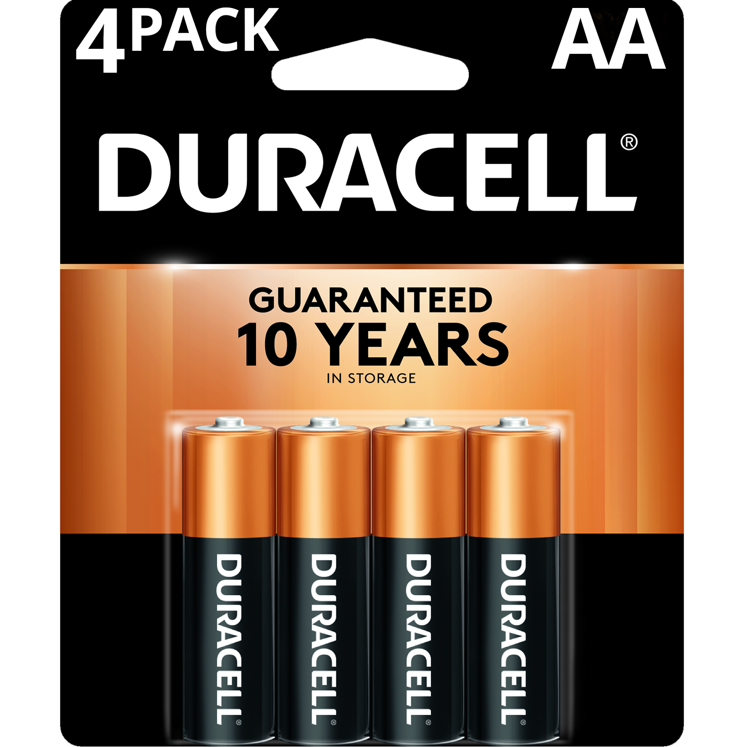Batteries - AA 4-Pack