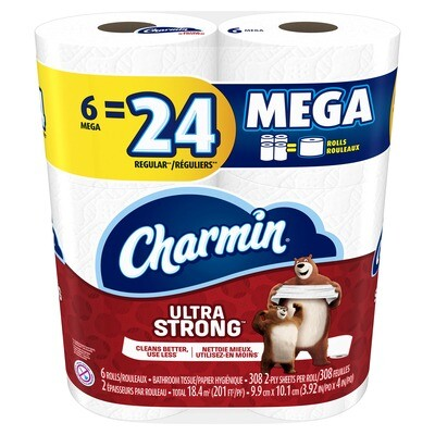 Charmin Ultra Strong Toilet Paper 6P