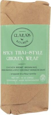 Clara's Spicy Thai Chicken Wrap