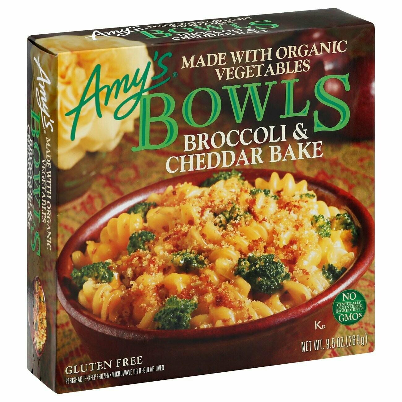 Amy's Broccoli & Cheddar Bake Bowl