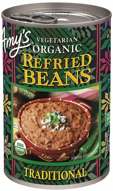 Amy's Refried Organic Beans 15.4oz