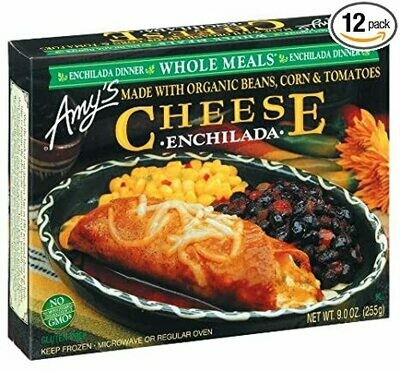 Amy's Cheese Enchilada Dinner