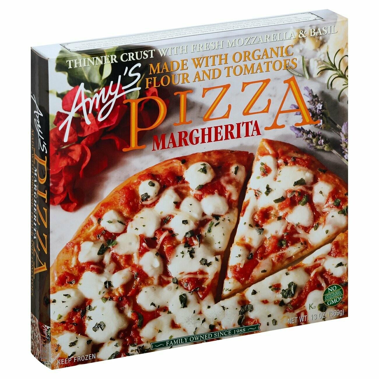 Amy's Pizza Margherita