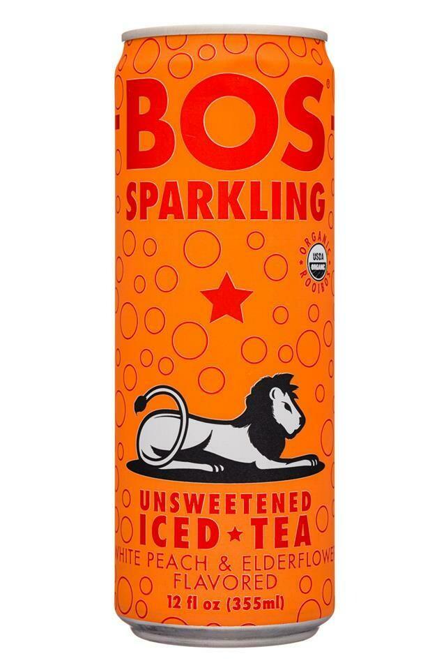 Bos Iced Tea Peach Flavor 12oz.