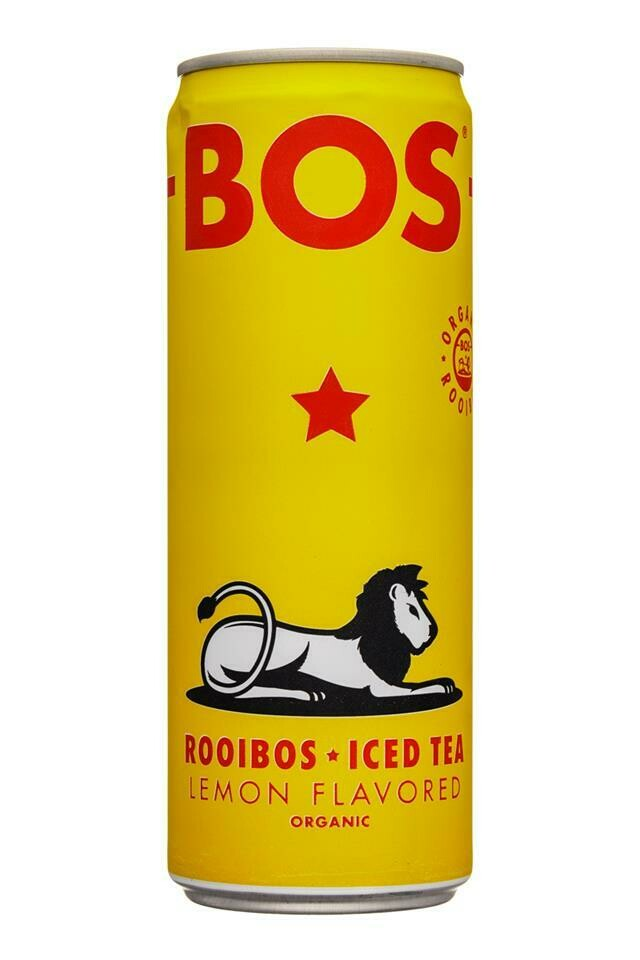 Bos Iced Tea Lemon Flavor 12oz.