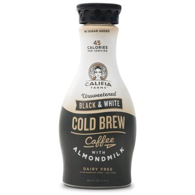Califia 48oz Black & White Oatmilk Cold Brew
