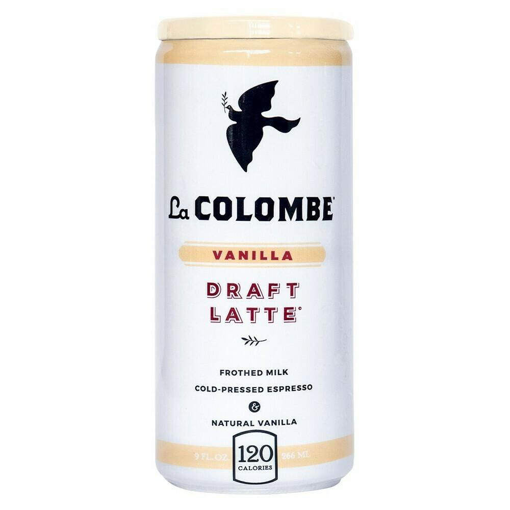 La Colombe Cold 9oz Vanilla Latte