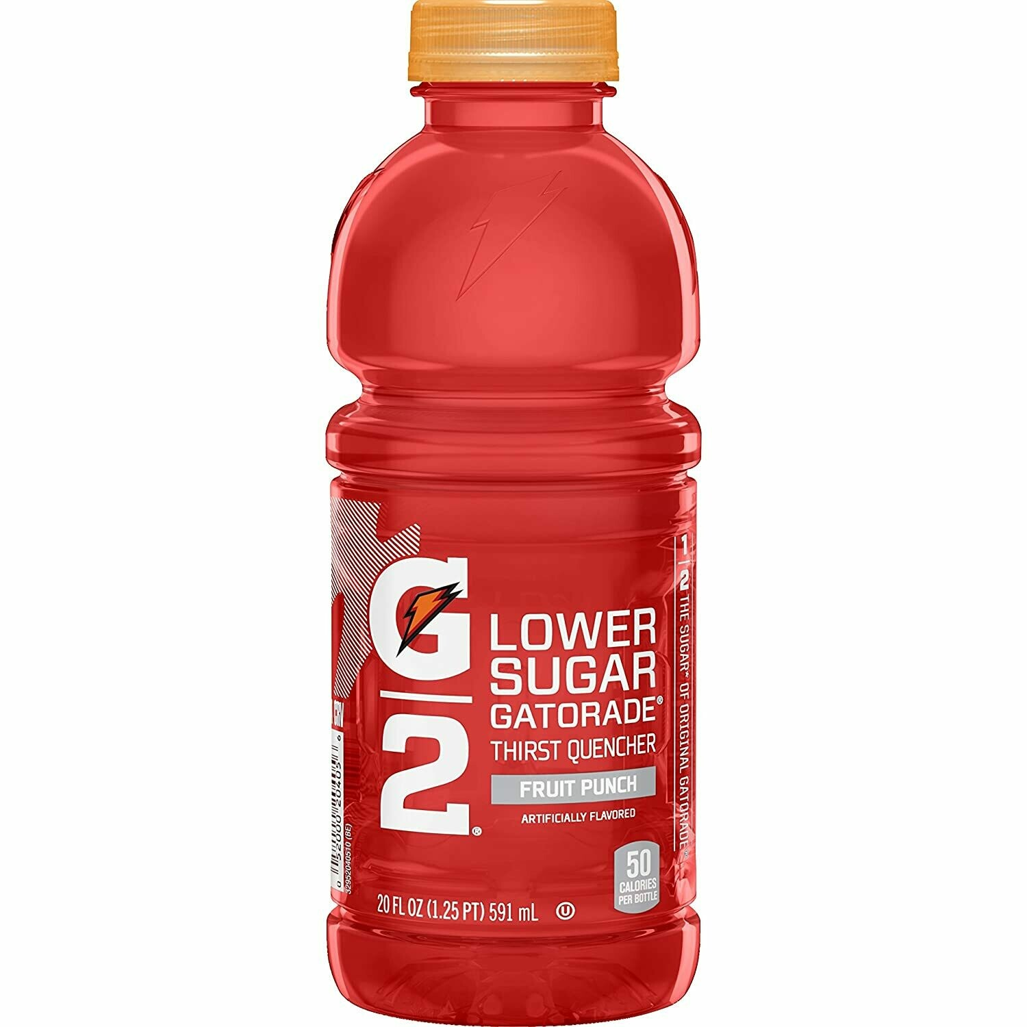 Gatorade Low Sugar Fruit Punch 20oz