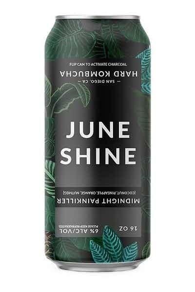 Juneshine Kombucha Midnight Painkiller 12oz