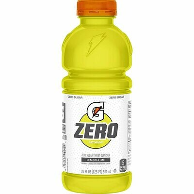 Gatorade Lemon Lime Zero 20oz