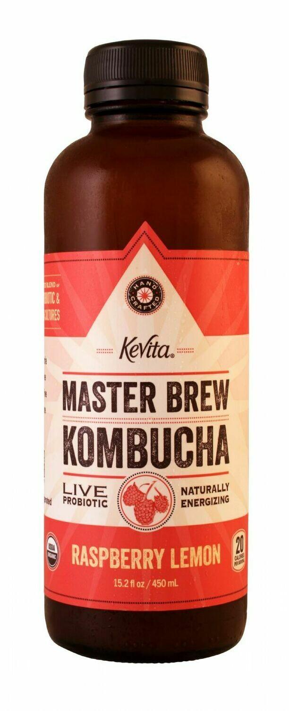 KeVita Kombucha 15.2oz Raspberry Lemon