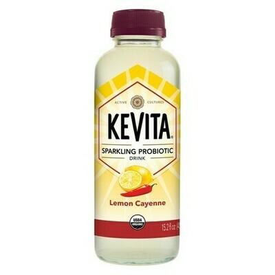 KeVita Kombucha 15.2oz Lemon Cayenne