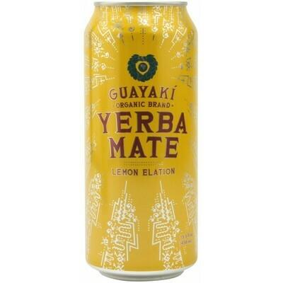 Guayaki Yerba Mate Lemon Elation 16oz