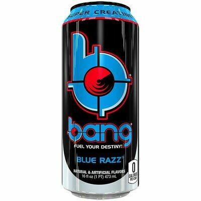 Bang Blue Razz 16oz.