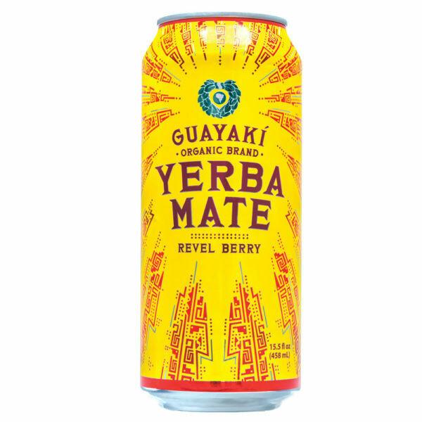 Guayaki Yerba Mate Revel Berry Can 16oz