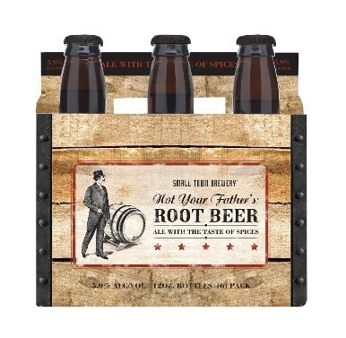 Small Town Not Your Father's Root Beer Can 6P