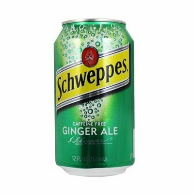 Schweppes Ginger Ale 12oz Can