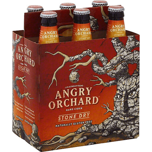 Angry Orchard Stone Dry 6P
