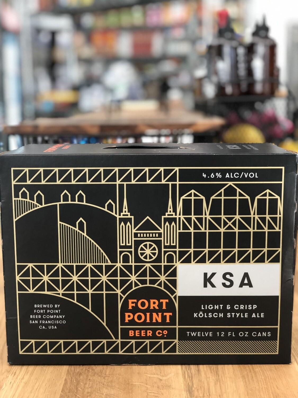 Fort Point KSA Kolsch 12P